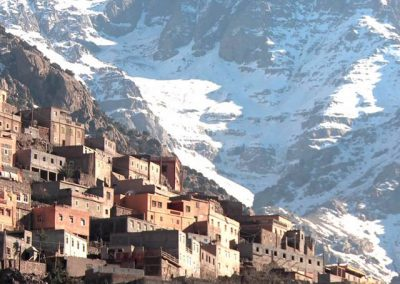 Imlil, at the edge of Mount Toubkal